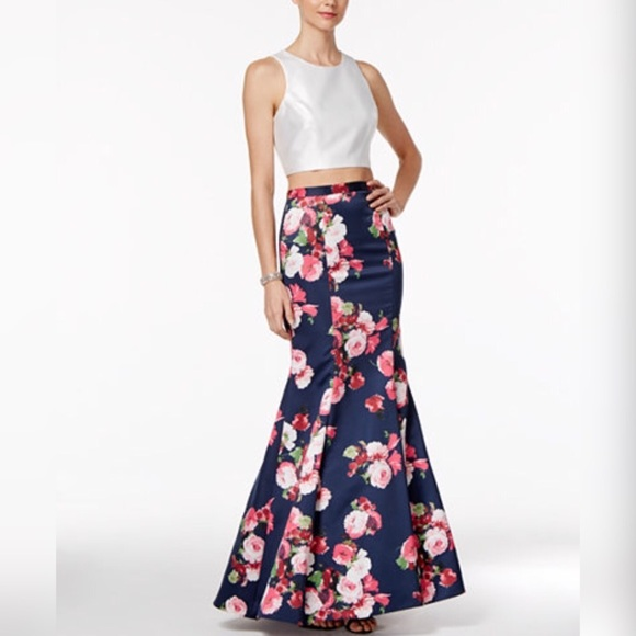 c5fe3565 Xscape Dresses | 2 Piece Mermaid Promevent Dress | Poshmark